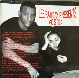Lee Ramsay ‎- RD Stile (LP) (G++/VG)